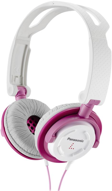 Resultado de imagen de AURICULARES PANASONIC RP-DJS150E-W rosa