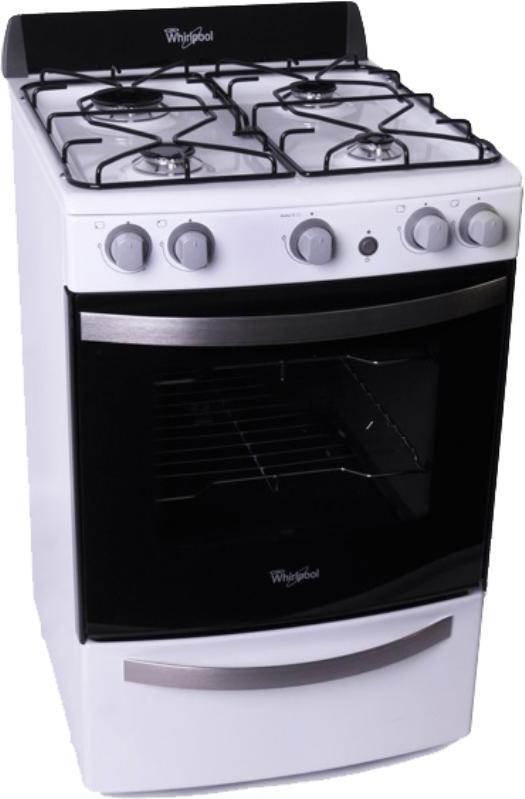 Cocina 55cm wfb56db 4 hornallas as whirlpool l blanca for Encendido electronico cocina whirlpool